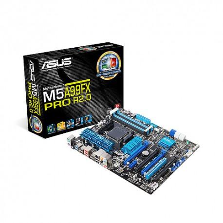 ASUS - M5A99FX PRO R2.0 AMD 990FX Socket AM3+ ATX placa base
