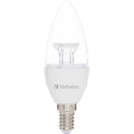 Verbatim - Candle 3.1W E14 A+ Blanco cálido lámpara LED - 22010694