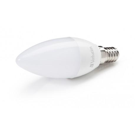 Verbatim - Candle 3.1W E14 A+ Blanco cálido lámpara LED - 22010688