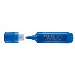 Faber-Castell - TEXTLINER 15 Punta de cincel/fina Azul 1pieza(s) marcador