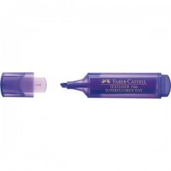 Faber-Castell - TEXTLINER 1546 Punta de cincel/fina Violeta 1pieza(s) marcador