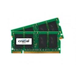 Crucial - 4GB DDR2 SODIMM módulo de memoria 800 MHz