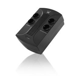 Ewent - EW3940 sistema de alimentación ininterrumpida (UPS) 650 VA 4 salidas AC Línea interactiva