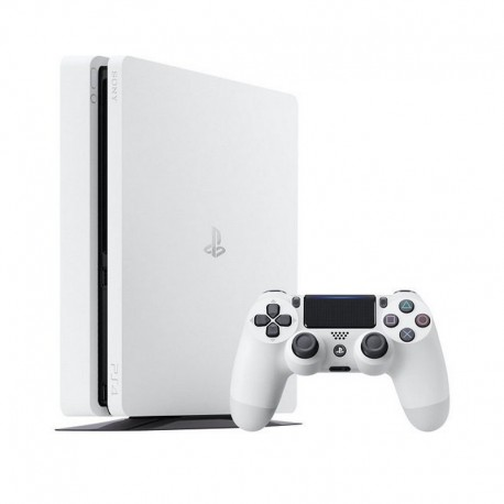 Sony - PlayStation 4 Slim 500GB 500GB Wifi Color blanco