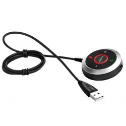 Jabra - 14208-03 mando a distancia Alámbrico Negro Botones