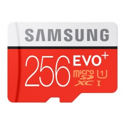 Samsung - EVO Plus MB-MC256D 256GB MicroSDXC UHS-I Clase 10 memoria flash