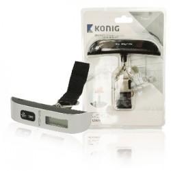 König - HC-LS10N 50kg Electrónico báscula de equipaje