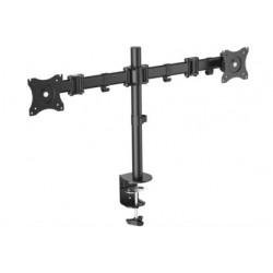 """Digitus - DA-90349 soporte de mesa para pantalla plana 68,6 cm (27"""") Abrazadera Negro"""