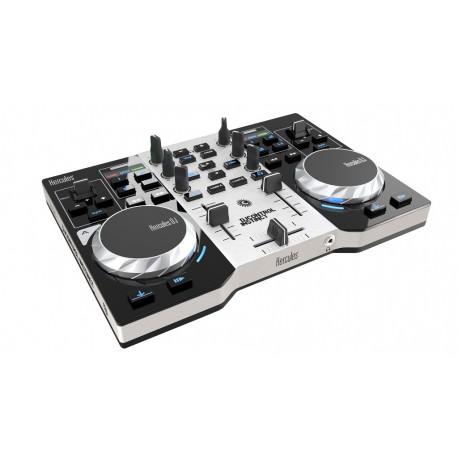 Hercules - DJControl Instinct Party Pack Vinyl scratcher Negro, Gris controlador dj