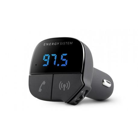 Energy Sistem - 424313 87.5 - 108MHz Bluetooth Negro transmisor FM