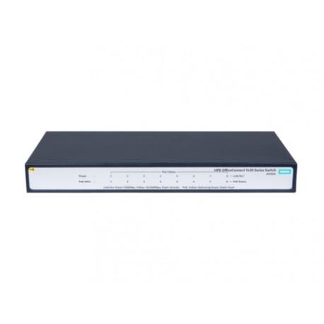 Hewlett Packard Enterprise - OfficeConnect 1420 8G PoE+ (64W) Unmanaged network switch L2 Gigabit Ethernet (10/100/