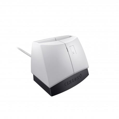 CHERRY - SmartTerminal ST-1144 USB 2.0 Negro, Gris lector de tarjeta inteligente