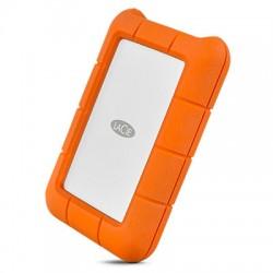 LaCie - Rugged USB-C disco duro externo 2000 GB Naranja, Plata