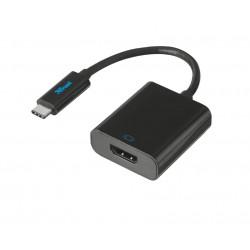 Trust - 21011 adaptador de cable USB Type-C HDMI Negro