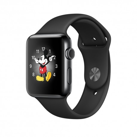 Apple - Watch Series 2 OLED GPS (satélite) Negro reloj inteligente - 22033939