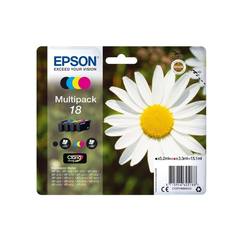 Epson - Multipack 18 4 colores