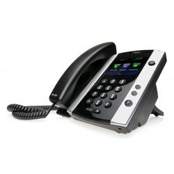 POLY - VVX 501 teléfono IP Negro Terminal con conexión por cable TFT 12 líneas