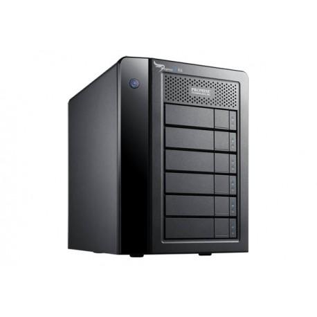 Promise Technology - Pegasus2 R6 24000GB Escritorio Negro unidad de disco multiple