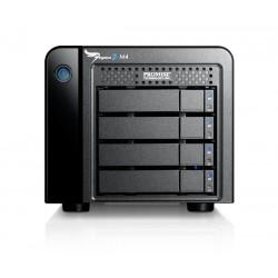 Promise Technology - Pegasus2 M4 4000GB Torre Negro unidad de disco multiple