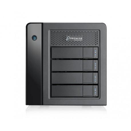 Promise Technology - Pegasus3 Symply Edition R4 12000GB Torre Negro unidad de disco multiple - 22022074
