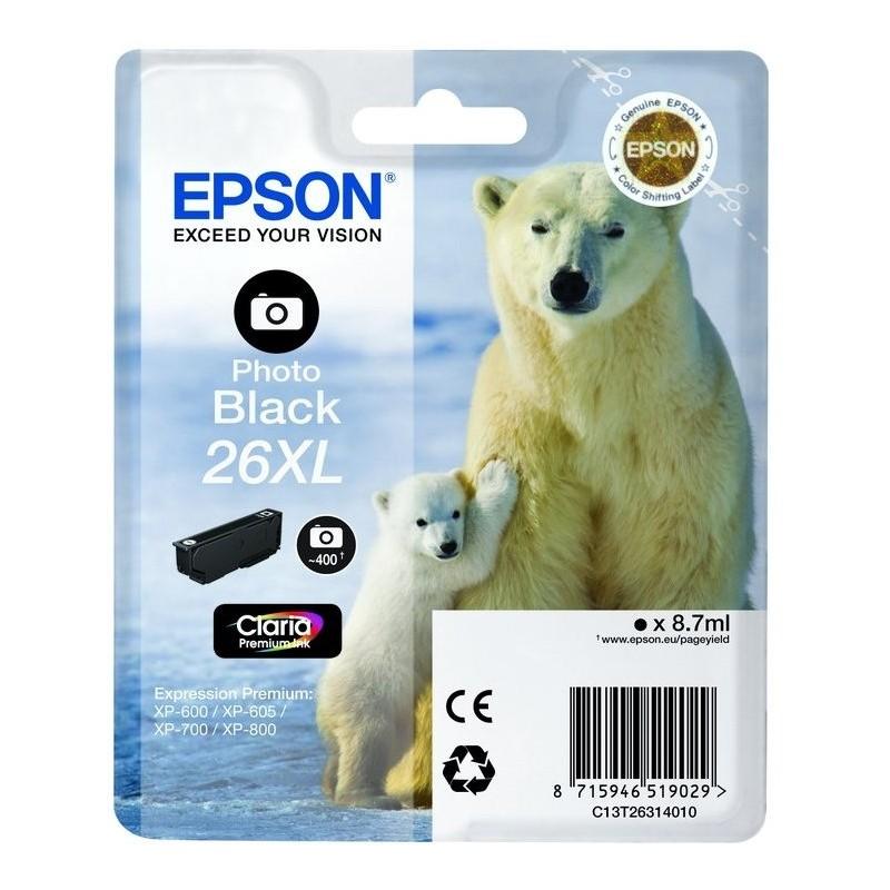 Epson - Polar bear Cartucho 26XL