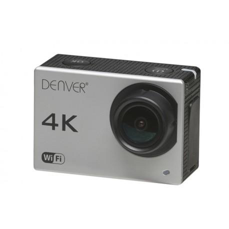 Denver - ACK-8060W 8MP 4K Ultra HD CMOS Wifi cámara para deporte de acción