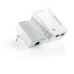 TP-LINK - TL-WPA4220KIT adaptador de red PowerLine 300 Mbit/s Ethernet Wifi