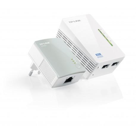 TP-LINK - TL-WPA4220KIT 300Mbit/s Ethernet Wifi adaptador de red powerline