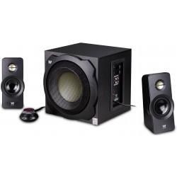 Woxter - Big Bass 260 S conjunto de altavoces 2.1 canales 150 W Negro