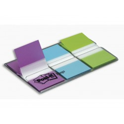 Post-It - POS BLIS 3x20 INDEX 1 VI+VE+AZ 680PBG