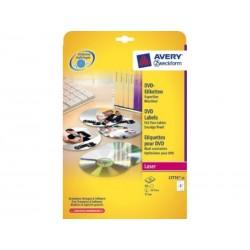 Avery - AVE C25H ET DVD DIAMET.117MM BL L7776-25