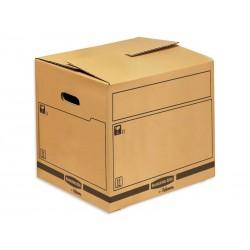 Fellowes - 6206702 empaque Caja de cartón para envíos Negro, Marrón 1 pieza(s)