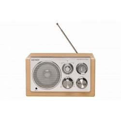 Denver Electronics - TR-61 radio Portátil Digital Blanco