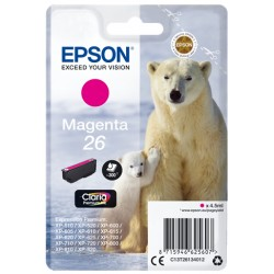 Epson - Polar bear Cartucho 26 magenta - C13T26134012