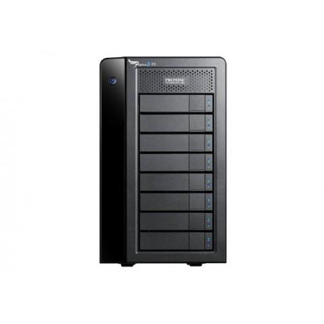 Promise Technology - Pegasus2 R8 32000GB Torre Negro unidad de disco multiple