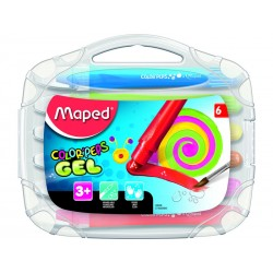 Maped - MPD EST.6 CERAS GEL ACUARELABLES 836306