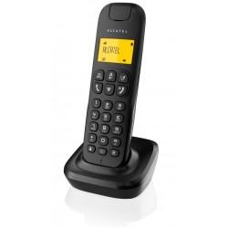 Alcatel - D135 DECT Identificador de llamadas Negro