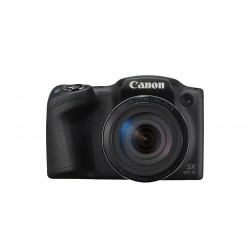 """Canon - PowerShot SX430 IS Cámara puente 20,5 MP CCD 5152 x 3864 Pixeles 1/2.3"""" Negro"""