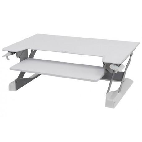 Ergotron - WorkFit-TL Blanco escritorio para ordenador