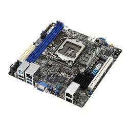 ASUS - P10S-I Intel C232 LGA 1151 (Socket H4) Mini ITX placa base para servidor y estación de trabajo