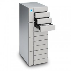 LaCie - 48TB 12big Thunderbolt 3 unidad de disco multiple Escritorio Plata
