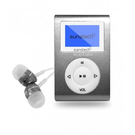 Sunstech - MP3 Dedalo II 8Gb micro USB Reproductor de MP3 8GB Gris