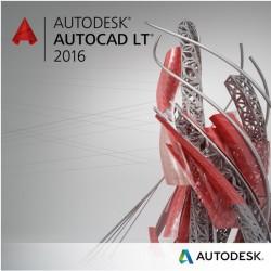 Autodesk - AutoCAD LT 2016, 1Y, 1U, RNW
