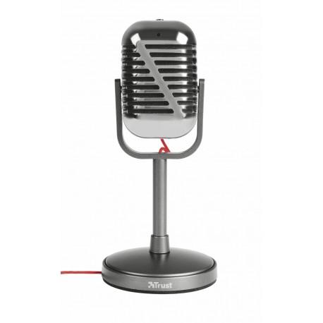 Trust - 21670 PC microphone Alámbrico Metálico micrófono