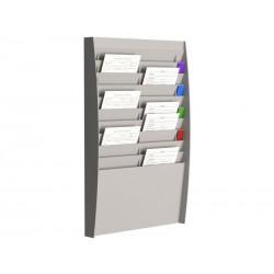 PaperFlow - FPF CLAS.VERTI.20 CAS.A4 GRIS A4V2X10.02