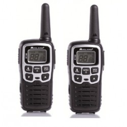 Midland - XT50 24channels 446.00625 - 446.0937MHz Negro, Gris two-way radios