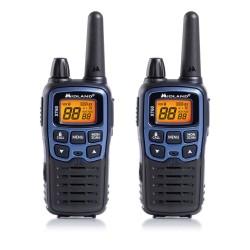 Midland - XT60 24channels 446.00625 - 446.0937MHz Negro, Azul two-way radios