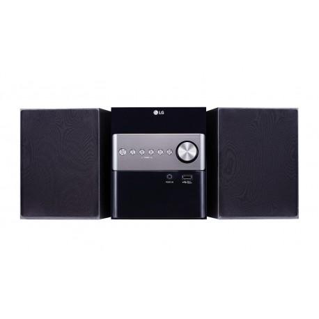 LG - CM1560 Micro set 10W Negro sistema de audio para el hogar