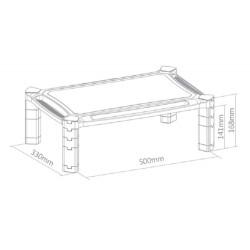 Newstar - Soporte para monitor/laptop