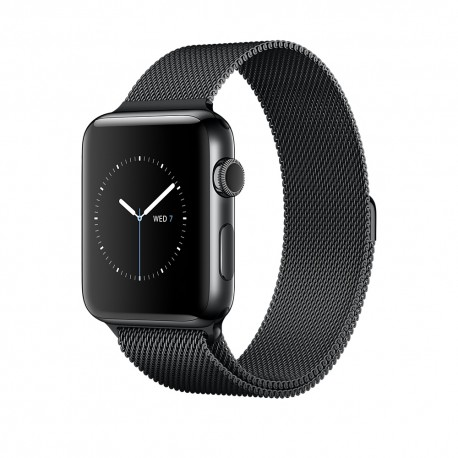 Apple - Watch Series 2 OLED GPS (satélite) Negro reloj inteligente - 22021652